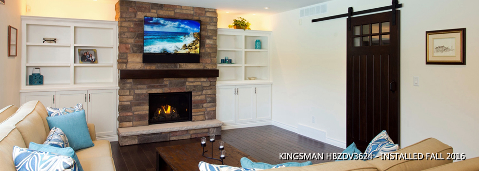 Kingsman 3624 Gas Fireplace