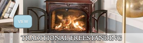 traditional freestanding gas stove