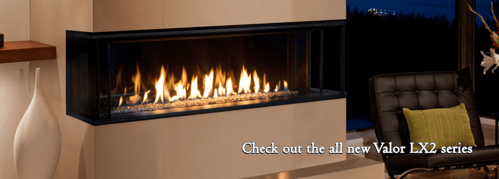 lx2 valor gas fireplace