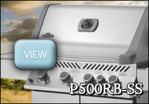 napoleon p500rbss gas grill