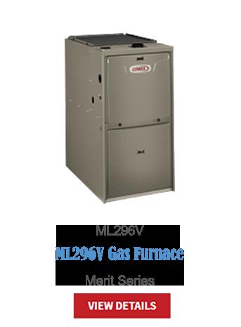 gas furnaces, heating, furnace, high-efficiency, hvac, ML296V