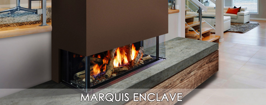 marquis enclave gas fireplace