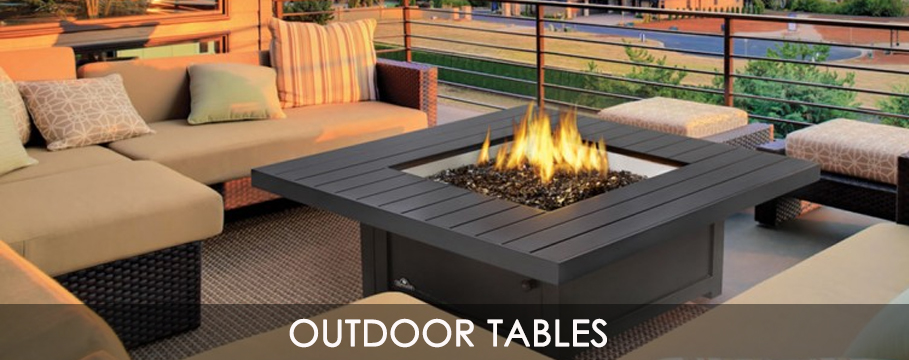 gas outdoor patio tables