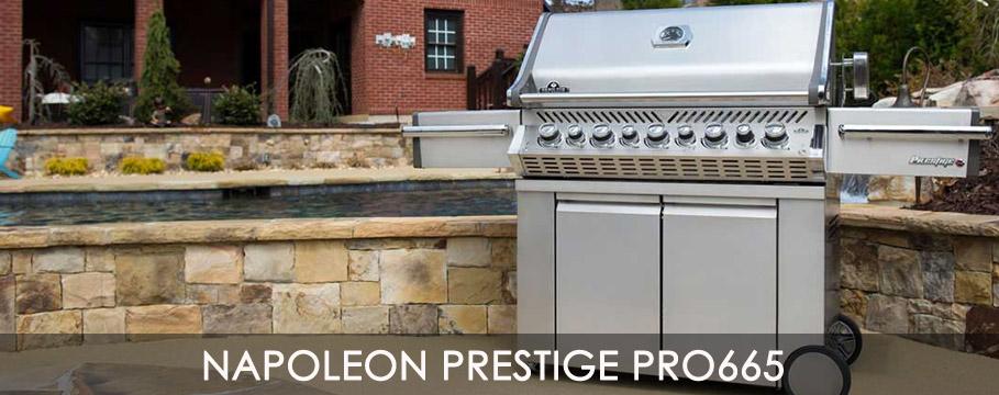napoleon grill bbq prestige pro665