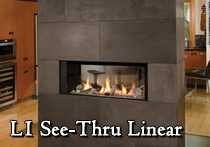 valor L1 linear gas fireplace